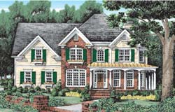 Southern Style Floor Plans Plan: 85-413
