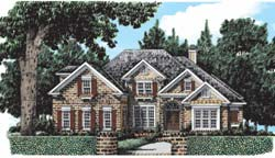 Southern Style House Plans Plan: 85-416
