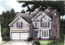 Cottage Style House Plans Plan: 85-418
