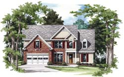 Traditional Style Floor Plans Plan: 85-421