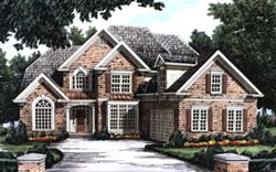 Southern Style House Plans Plan: 85-429
