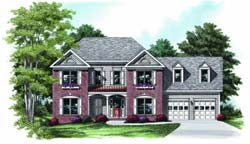 Southern-Colonial Style House Plans Plan: 85-430