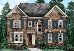 Southern-Colonial Style House Plans Plan: 85-435