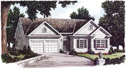 Traditional Style Floor Plans Plan: 85-436