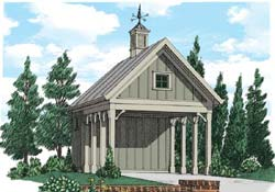 Country Style House Plans Plan: 85-447