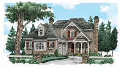 Cottage Style Home Design Plan: 85-461