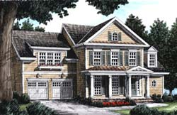 Southern Style Floor Plans Plan: 85-478