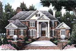Southern Style Floor Plans Plan: 85-481