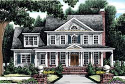 Southern-Colonial Style House Plans Plan: 85-482