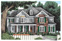 Country Style House Plans Plan: 85-501