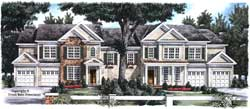 Traditional Style Floor Plans Plan: 85-508