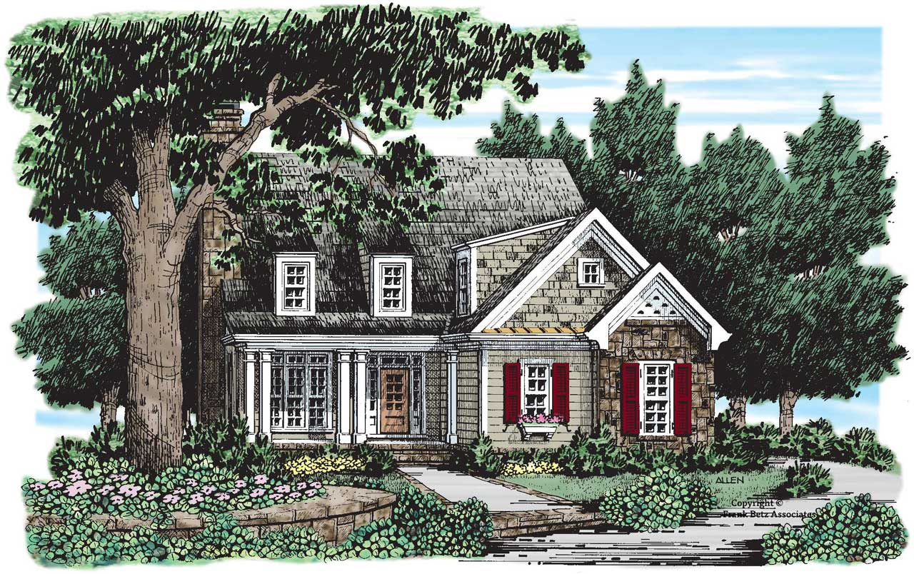 Cottage House Plan 3 Bedrooms 2 Bath 1589 Sq Ft Plan 85 511