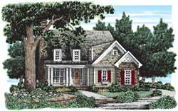 Cottage Style House Plans Plan: 85-511