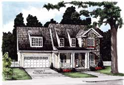 Cottage Style Floor Plans Plan: 85-515