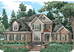 Traditional Style Floor Plans Plan: 85-532