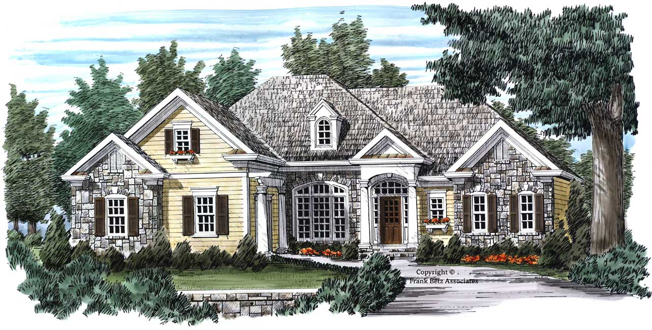 Traditional Style Floor Plans Plan: 85-534