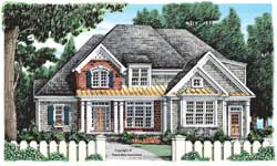 Cottage Style House Plans Plan: 85-574