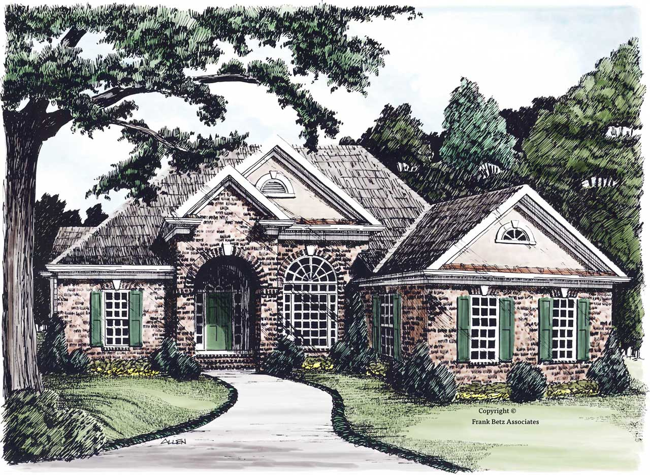 Traditional Style Floor Plans Plan: 85-608