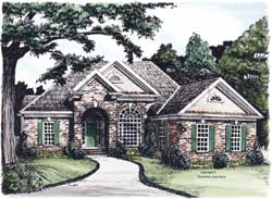Traditional Style House Plans Plan: 85-608