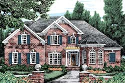 Traditional Style House Plans Plan: 85-613