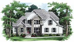 Traditional Style House Plans Plan: 85-627