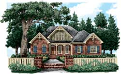 Cottage Style House Plans Plan: 85-639