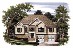 Traditional Style Floor Plans Plan: 85-645
