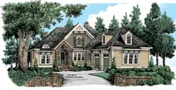 Cottage Style Floor Plans Plan: 85-651