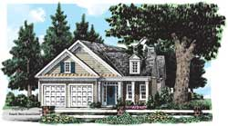 Cottage Style Floor Plans Plan: 85-662
