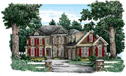Southern Style Floor Plans Plan: 85-675