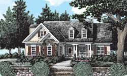 Cottage Style Floor Plans Plan: 85-684