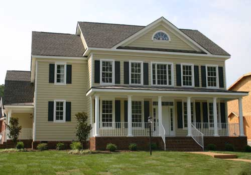 New-england-colonial Style Home Design