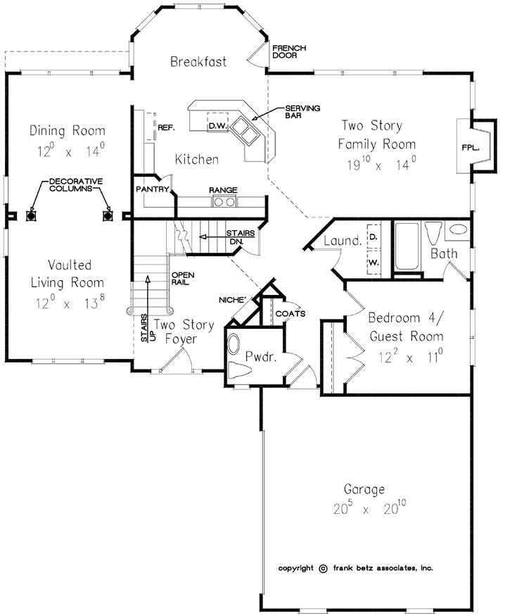 Main Floor Plan: 85-713