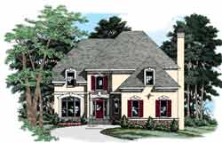 European Style House Plans Plan: 85-713