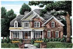 Country Style Floor Plans Plan: 85-716