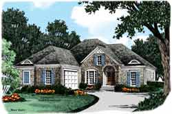 Cottage Style House Plans Plan: 85-722