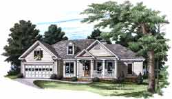 Traditional Style Floor Plans Plan: 85-724