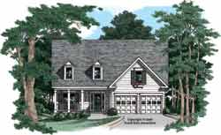Country Style Floor Plans Plan: 85-726
