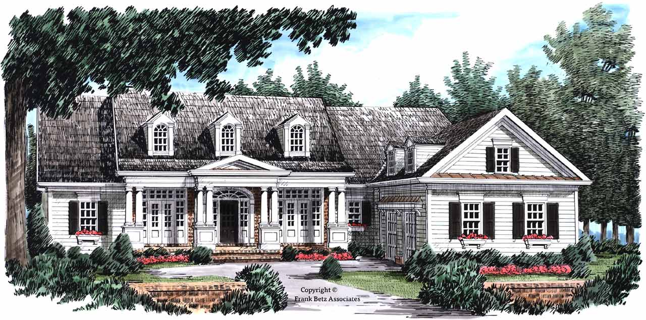 New-england-colonial Style Floor Plans Plan: 85-729