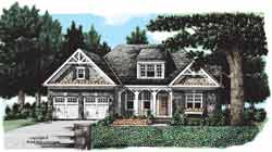 Cottage Style House Plans Plan: 85-730