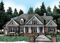 Traditional Style House Plans Plan: 85-731