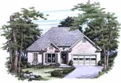 Traditional Style House Plans Plan: 85-732