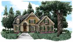 Cottage Style House Plans Plan: 85-734