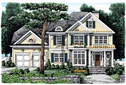 Country Style House Plans Plan: 85-735