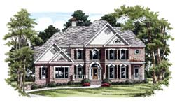 Traditional Style Floor Plans Plan: 85-739