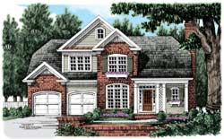 Country Style Floor Plans Plan: 85-740