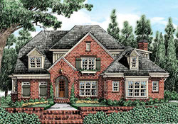 Traditional Style House Plans Plan: 85-752