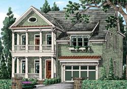 Cottage Style Floor Plans Plan: 85-787