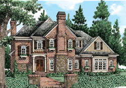 Traditional Style House Plans Plan: 85-795