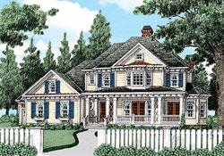 Modern-Farmhouse Style Floor Plans Plan: 85-980